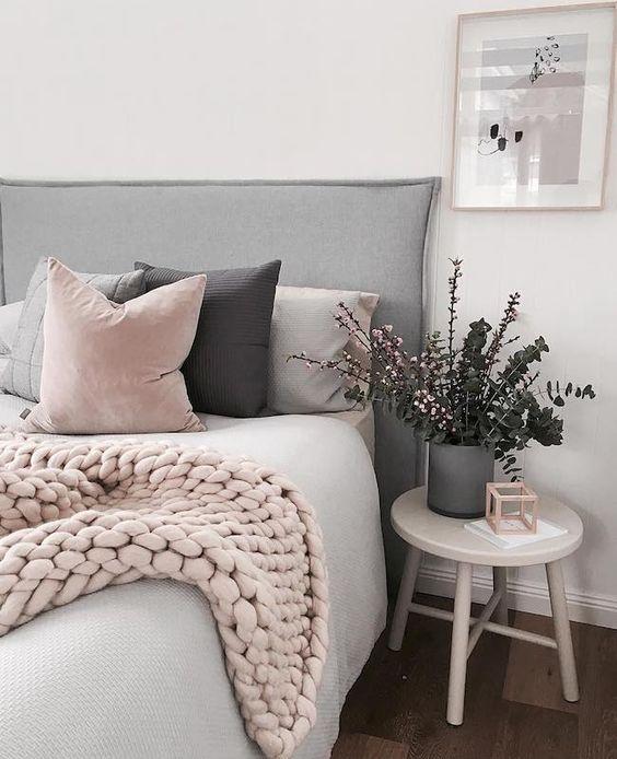 Modern Pink Pillow
