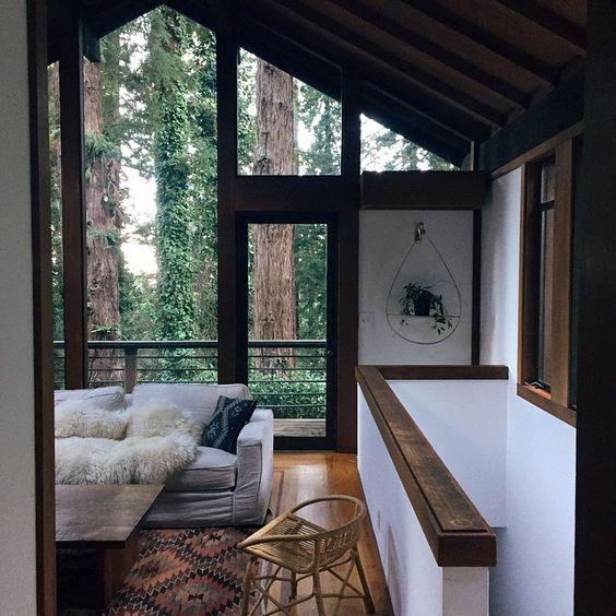 Mountain Cabin Living Room