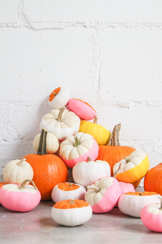 no-carve-pumpkin-tutorial-pink