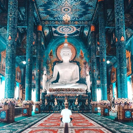 Blue Temple, Thailand