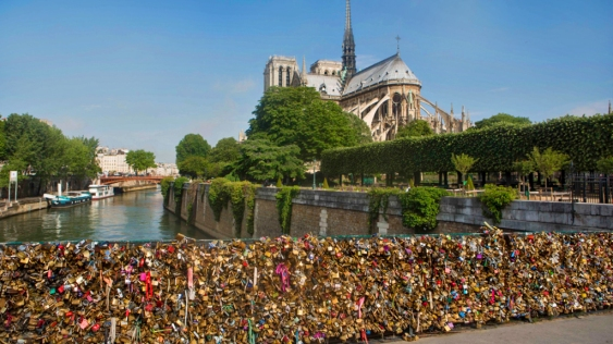 Love Locks of Pont des Arts