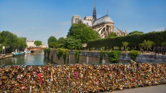 Love Locks of Pont des Arts