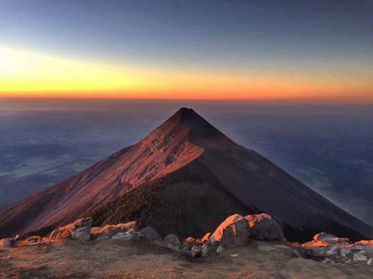 First Light Atop Volcan Acatenango