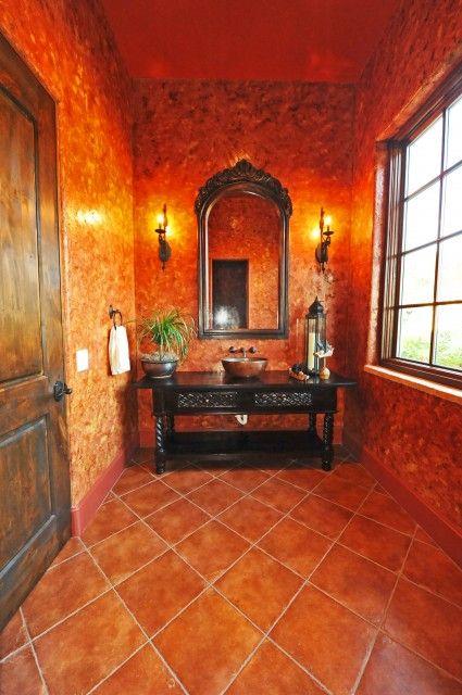 Fiery Hallway