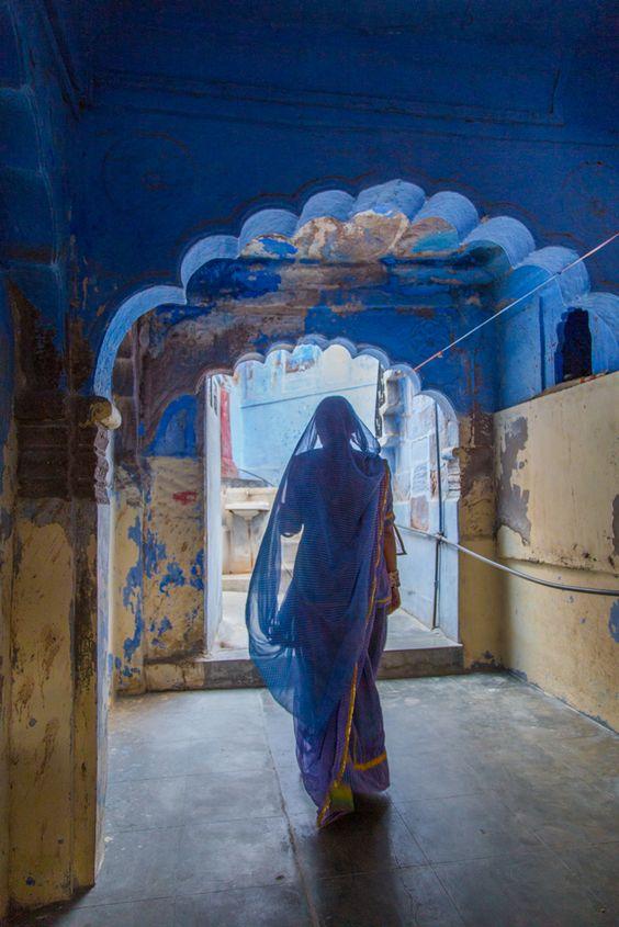 Blue India