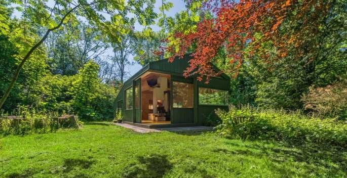 Amsterdam's cc-studio named Thoreau's Cabin in honor of American author Henry David Thoreau