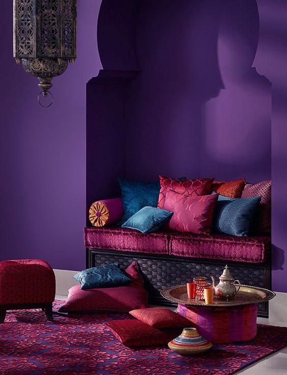 Ultra Violet Moroccan