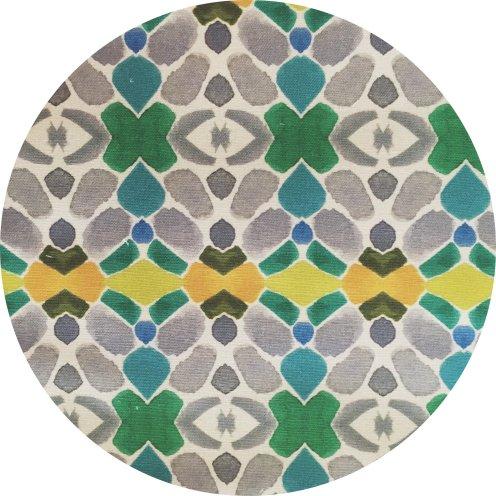 Birmingham Modern Fabric by Bunglo