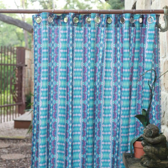 Mendoza Modern Shower Curtains