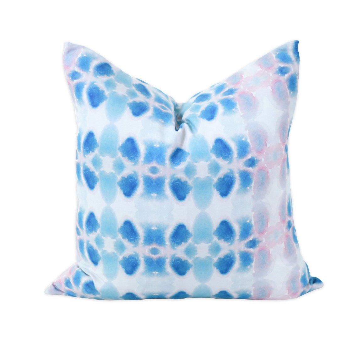 Passion Flower Modern Pillows