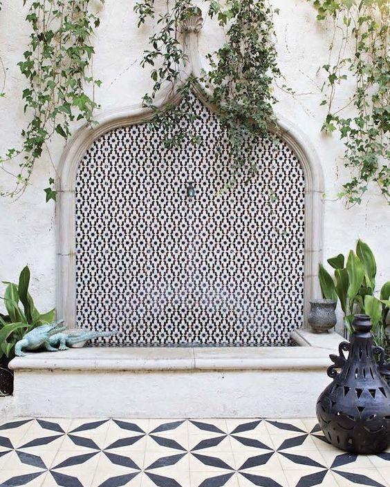 Moroccan Monochrome