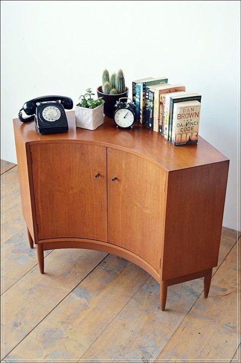 Minimalist Modern Corner Cabinet