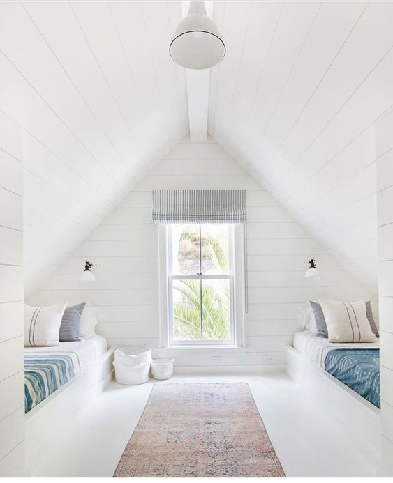 Lofted Guest Room