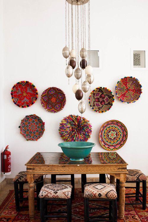 Rainbow Baskets