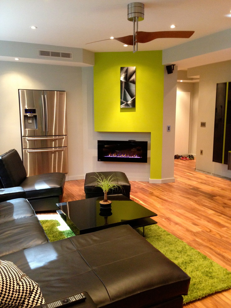 Modern Basement Lounge