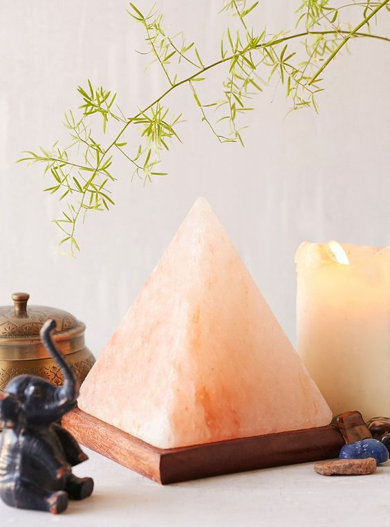 Himalayan Salt Pyramid by Urban Outfitters