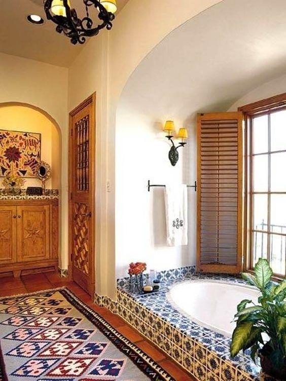 Spanish Mosaic Tub