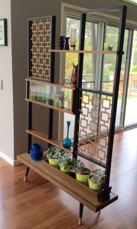 Functional Modern Bookshelf + Room Divider + Display Case