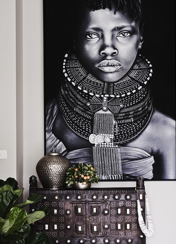 Tribal Woman Art