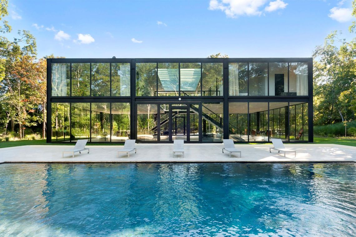 East Hampton Glass Box