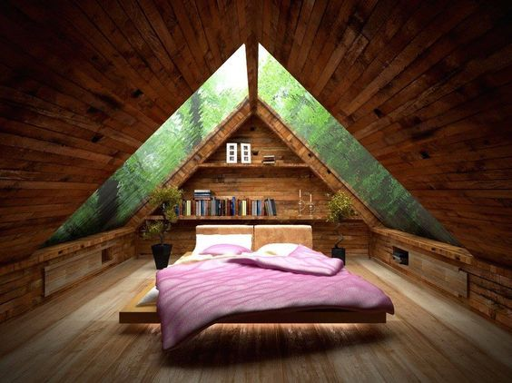 Loft in the Forest