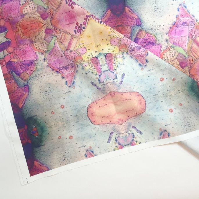 Indian Ocean Fabric