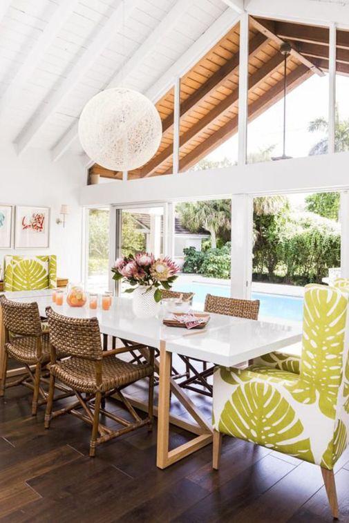 Chartreuse Palms