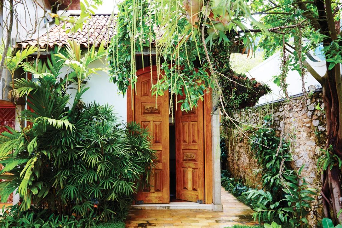 Lush Entryway