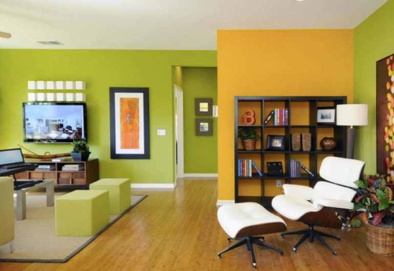 Modern Home in Vivid Color