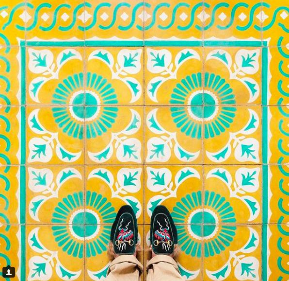 Havana Floors, Gucci Slides