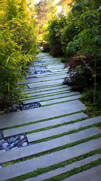 Stone Panel Path