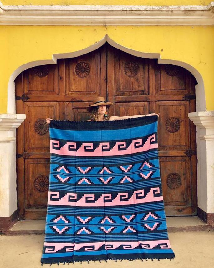 Handmade Mayan Waves from the Highlands of Guatemala