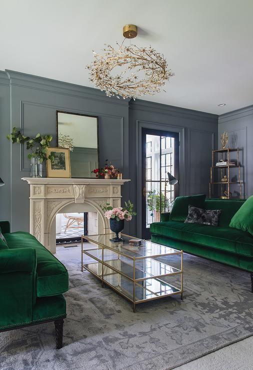 Mid-Century Modern Twin Sofas