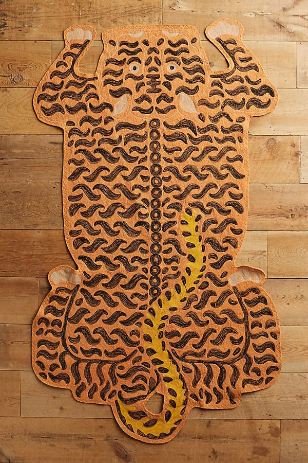 Embroidered Tiger - $248
