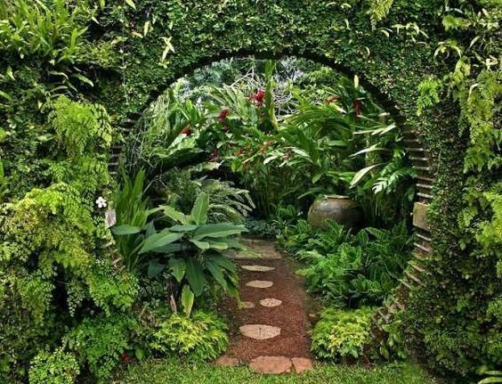Overgrown Hobbit Portal