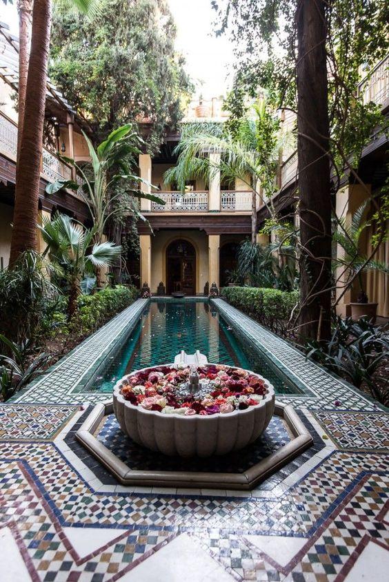 Zellige Courtyard
