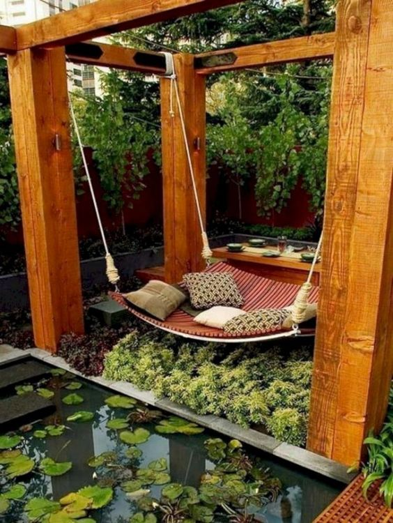Zen Hanging Bed