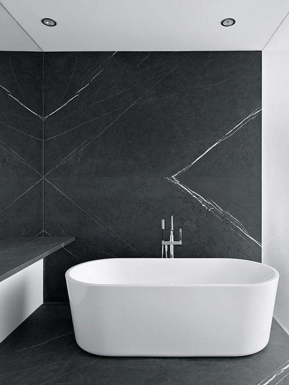 Modern Minimalist Bath