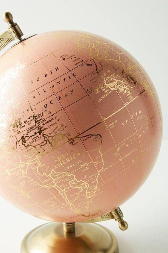 Gold Leaf Globe