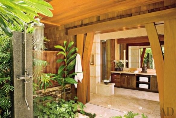 Exotic Patio Bath