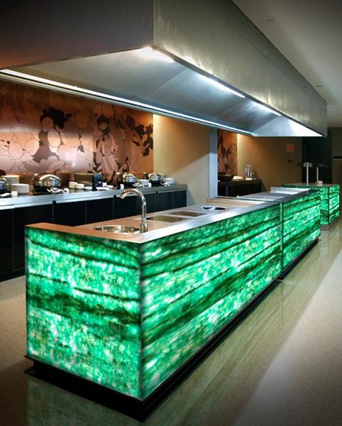 Glowing Emerald Gems