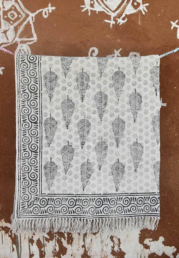 India Paisley Cotton - $120