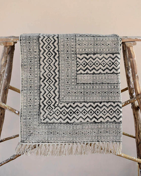 Jaipur Geometric Cotton - $120