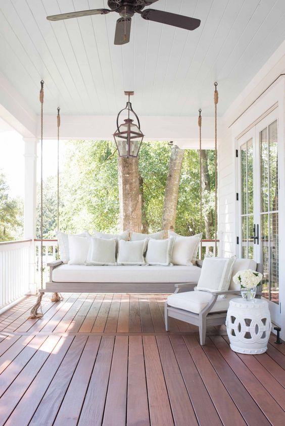 Porch Swing Lounge