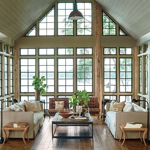 French Style Lakehouse