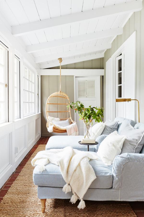 Cozy Sunroom