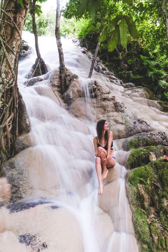 The Sticky Falls