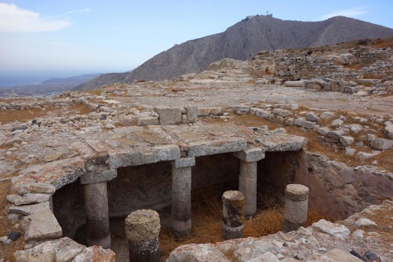 Thira Ancient Ruins