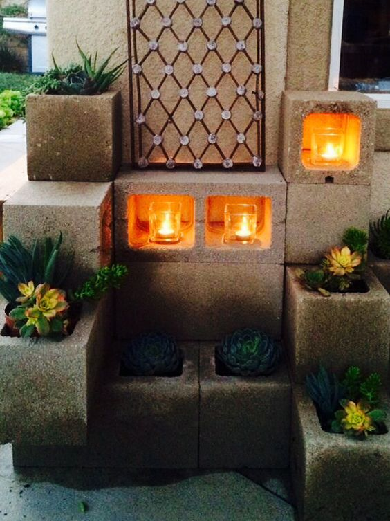 Planters + Candle Nook