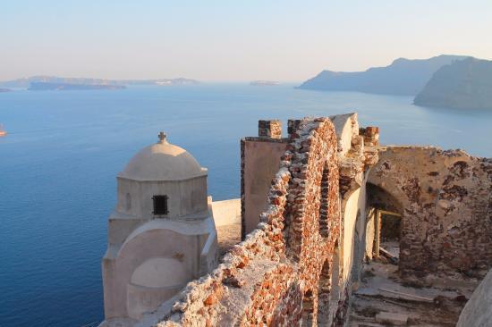 Byzantine Castle Ruins, Oia